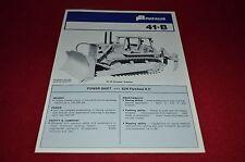 Fiat Allis Chalmers 41-B Crawler Tractor Dealer Brochure YABE11 Ver46