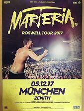 MARTERIA  2017 MÜNCHEN  - orig.Concert Poster -- Konzert Plakat  A1 NEU