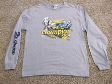"2007 Nascar Nextel Series Jimmie Johnson ""2X Champion"" Tee Shirt ,Size XL"