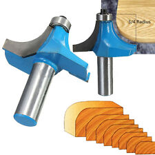 Round Over Edging Router Bit 3/4'' Radius -1/2'' Shank Woodworking Chisel Cutter