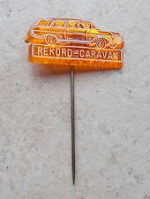 Badge Vintage Pins Opel Rekord Caravan Voiture Auto ancien 1960s