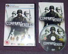 Company of Heroes for PC, DVD-ROM (Windows) - Complete, VGC