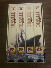 TITANIC ~ 4 VHS set ~ A&E