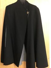 Brand New Ted Baker Reversible Black/Grey Cape Coat.