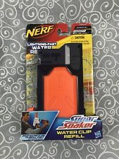 Nerf Super Soaker Water Clip Refill 10 oz Thunderstorm TornadoStrike Squirt Gun