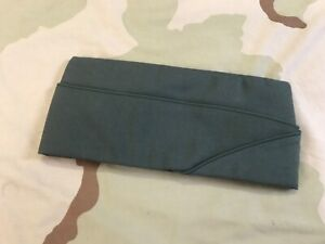 US ARMY MEN'S DRESS GREEN GARRISON CAP AG-344 UNIFORM ENVELOPE HAT VAR SIZES