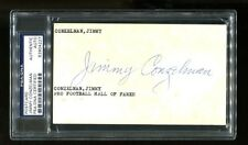 Jimmy Conzelman Signed GPC Postcard 3x5 Autographed PSA/DNA 83904227