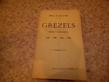 1906.Grézels roman historique (révolution).Comte de Saint-Aulaire