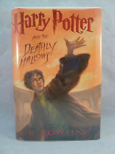 Harry Potter and the Deathly Hallows 7 J. K. Rowling 1st Edition Hardcover 2007