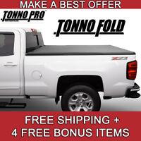 Fits 14 18 Silverado Sierra 6 6ft Bed Tonno Pro Tri Fold Tonneau
