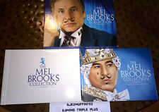 "MEL BROOKS COLLECTION BLU-RAY SET (INCLUDES ""IT'S GOOD TO BE KING"" BOOK) OOP"