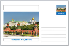 "Landmarks - souvenir postcard (glossy 6""x4""card) - The Kremlin Wall, Moscow"