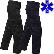 EMT Paramedic Pants - EMS Medic Tactical Uniform - Regular Long or Short Lengths