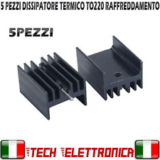 Noir anodisé dissipateur de chaleur-Electronics-Amplificateur-Projet Audio 150 x 100 x 40 mm.