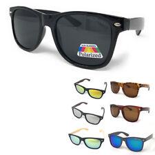 Поляризованные солнцезащитные очки классический способ бамбук зеркало мужские женские подростковые