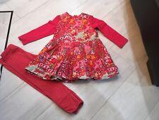 Girls Designer Oilily Dress Age 18 Months Vgc Multi Colour