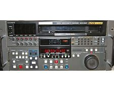 Sony Digital Videocassette Recorder DVW-A500P; Digital BETACAM 01