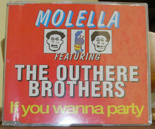 MOLELLA FEATURING THE OUTHERE BROTHERS -  IF YOU WANNA PARTY  (CD SINGLE)