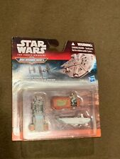 Star Wars the Force Awakens MicroMachines Disney Hasbro Speeder Chase NEW MIP