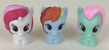 Playskool Friends My Little Pony 3pc Lot Rainbow Dash Moondancer Minty 2015 MLP