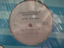 """12""""  FREESTYLE ON MUSIC SPECIALISTS RECORDS FREESTYLE EXPRESS X 2"""