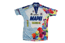 Maillot vélo vintage Sportful Bricobi Mapei Latexco Colnago 1997