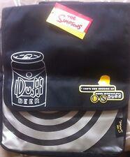 < THE SIMPSONS - DUFF BEER LOGO - OFFICIAL MESSENGER  BAG