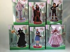 Set of 6 Wizard of Oz Statues Tin Man Lion Dorthy Scarecrow Glinda  Westland