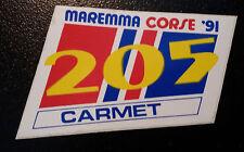 Adesivo Sticker MAREMMA CORSE ' 91 (205)  cm 8 x 5,5circa  Perfetto