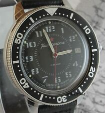 Mechanische - (Handaufzugs) Vostok Armbanduhren mit Datumsanzeige