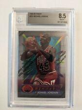 1994-95 Topps Finest #331 Michael Jordan Chicago Bulls BGS 8.5 NM-MT+ w/Coating