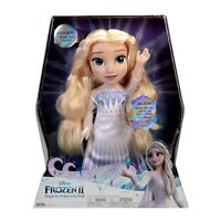 "Disney Frozen 2 Magic In Motion Queen Elsa Feature Doll sings ""Show Yourself"""