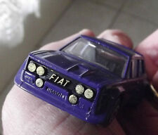 Matchbox FIAT 131 ABARTH Rally made in Bulgaria nel 1982 vintage car toy old