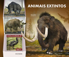 Mozambique 2019 fauna Extinct species , rhino, elephant , bird S201904
