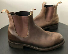 AUTHENTIC RM WILLIAMS GARDENER BOOTS SIZE 10 HFX RRP $595