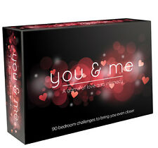 YOU & ME GAME of Love and Intimacy Adults Only Challenges Romantic Gift Sex Aid