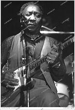 Muddy Waters 19x13 RARE 1980 LIVE PHOTO From Original Negative NUMBERED LTD. ED.