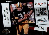 2010 Playoff Contenders Super Bowl Ticket Football Card Pick