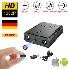 HD 1080P Mini Kamera Überwachungkamera Hidden Camera IR Spion Spycam Nanny Cam