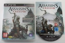 PLAY STATION 3 PS3 ASSASSIN'S CREED III 3 COMPLETO PAL ESPAÑA