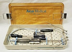 Lot - Axya 1104 Medical Axyaweld Suture Welding w Case & Tools - Cpics4details