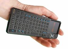 Bitzeasi® Mini Wireless Keyboard Touchpad 2.4G Backlit for Android Smart TV XBMC
