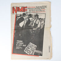 NME magazine 24 October 1981 Anti Thatcher cover Ultravox Marc Bolan Cool Cats