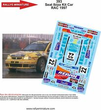 Decals 1/43 Ref 0393 Seat Ibiza Kit Car Evans Rac Rally 1997 Rally WRC