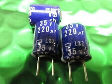 220UF 35V 105'C HIGH TEMPERATURE LONG LIFE RADIAL CAPACITOR LXZ35VB220  **5 PER*