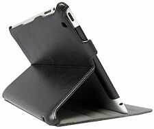 Leather Stand Protective Case Cover for Apple iPad 2 3 4 Protector Cool Black