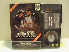BETAMAX New York New York Minnelli De Niro DeNiro Beta USED Video Tape NOT VHS