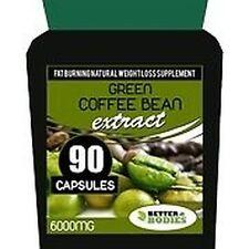 90 Gélules Minceur Extrait Graine De Café Vert Format Bouteille