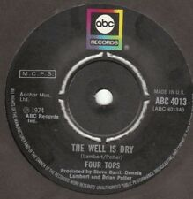 FOUR TOPS THE WELL IS DRY / MIDNIGHT FLOWER abc 4013 EX LISTEN BELOW  ♫ ♫♫