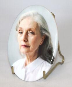 Personalised Ceramic Photo Memorial Plaque